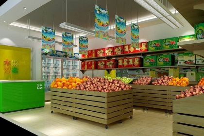 2018水果專賣店裝修要點,水果專賣店裝修注意事項詳解