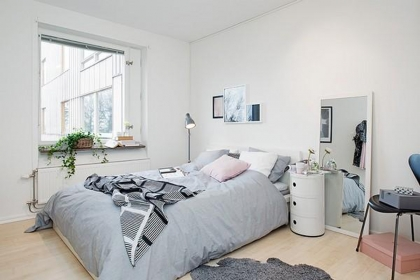 40平米一室一廳裝修效果圖,純情北歐的清新空間