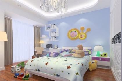 兒童房墻漆顏色效果圖,給人不一樣的視覺享受