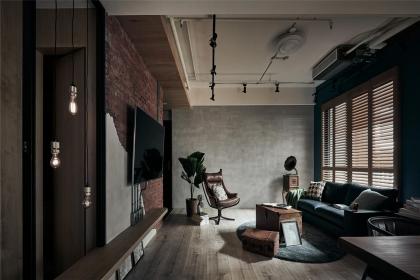 工业U乐国际客厅设计说明,详解工业U乐国际客厅设计