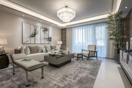125平中式风格设计图,格调雅致的室内空间惹人生羡!