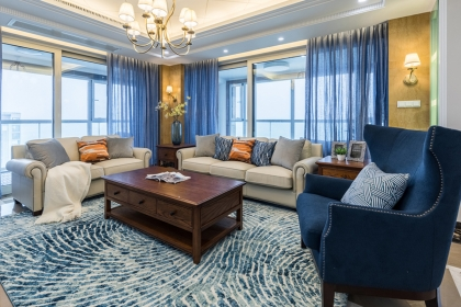 简美风格设计说明,简约精致的家居环境让人百看不腻!