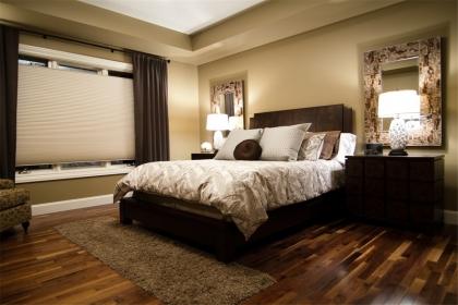 高档木地板装修效果图,打造时尚温馨的居家环境