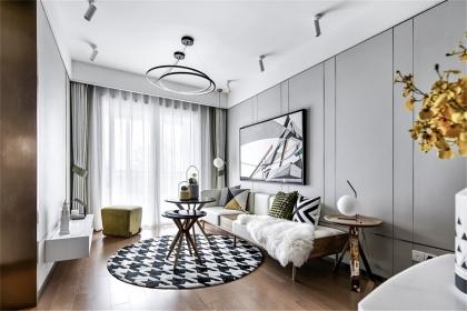 60平米简约风格设计方案,带你走进建筑师的家