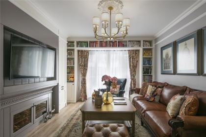 美式风格装修样板间,沉稳大气让人羡慕的居室