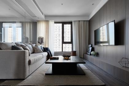 简约风格设计说明,89平米简约家居尽显现代时尚感