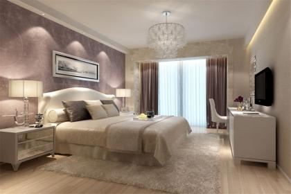 木地板卧室装修效果图,打造精致温馨的现代居室图片