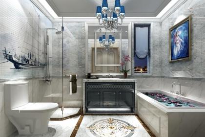 最新卫生间装修设计图,给家人打造一个清爽舒适的卫浴间