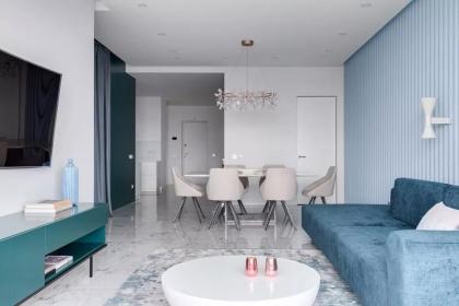 140平米现代风格装修,现代家居设计效果图
