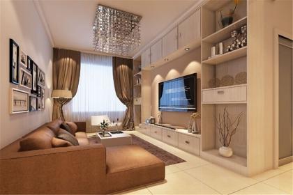 时尚简约电视背景墙,打造时尚舒适的居室生活