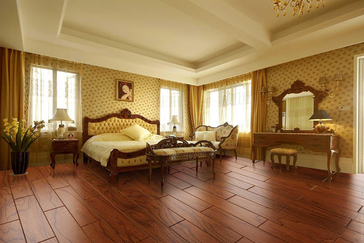 卧室木地板铺贴方法介绍,木地板常见的几种铺法
