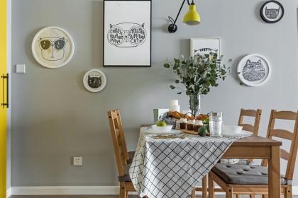 家庭餐桌设计效果图,绝美的餐桌才配得上人间美味