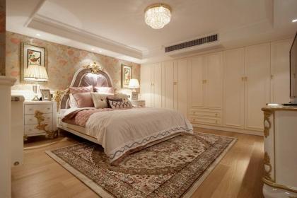 2018年简约欧式风格卧室案例,温馨典雅的睡眠空间