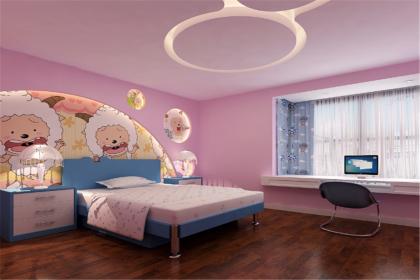 儿童房刷漆颜色效果图,给孩子活泼快乐的童年生活