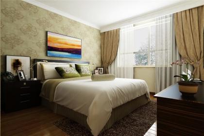 卧室地毯装修效果图,身与心的极致享受