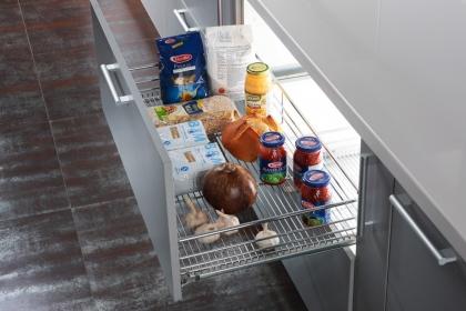 厨房橱柜拉篮选购方法介绍,教你如何扩大厨房空间
