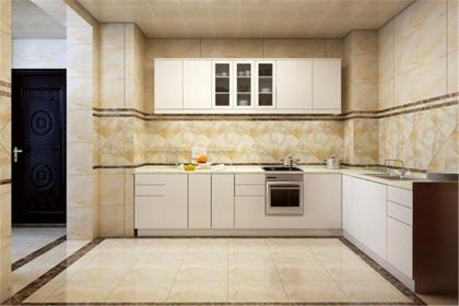 2018最新厨房瓷砖效果图,厨房瓷砖装修图片大全
