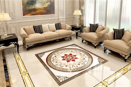 客厅瓷砖颜色搭配有讲究,瓷砖颜色挑选和搭配方法解析