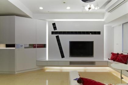 简约电视背景墙设计,电视背景墙装修效果图欣赏
