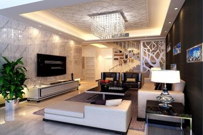 简约客厅吊顶设计效果图赏析,让你的家居生活更有品味