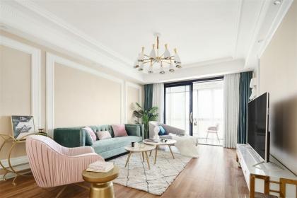 129平简美风格装修,感性教师的私人住宅