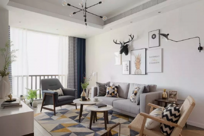 2018北欧风格装修案例,一个温馨而富有设计感的北欧美家