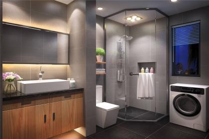 卫生间贴什么颜色的瓷砖好?卫生间瓷砖砖铺贴方法