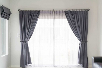 打孔窗簾怎么安裝?記住這五個步驟輕松安裝窗簾