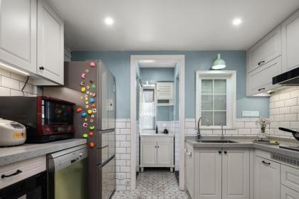 厨房的灯光设计和布置技巧解说, 给家人一个温馨舒适的厨房空间