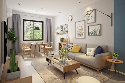 北欧风格客厅案例,7款最新北欧风格客厅设计