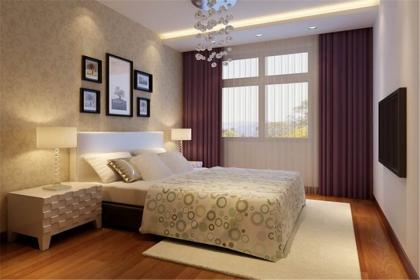 卧室壁纸装修效果图,卧室壁纸装修图片大全