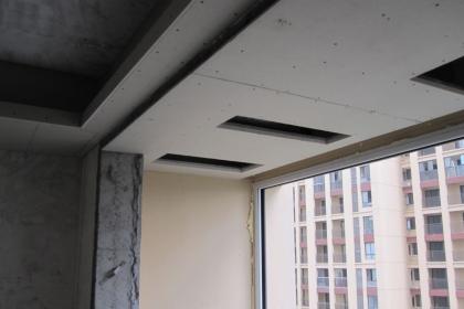 双层石膏板吊顶的优点,石膏板吊顶的施工过程