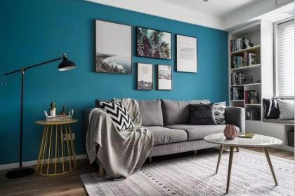 100平米三居室装修布置,打造混搭风格个性居室