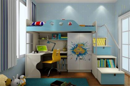 儿童房家具风水禁忌,让孩子感受父母的关爱和呵护
