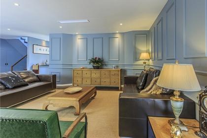 180平米别墅房屋设计,多彩混搭风格居室装修