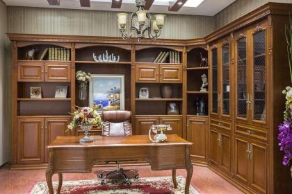 书房书柜选购要点介绍,好书柜让书房书香气满满