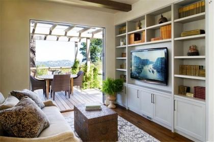 2018客厅电视柜装修效果图,客厅电视柜装修图片