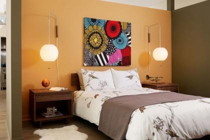 卧室墙面壁灯选购要点介绍,给家人一个好的睡眠环境