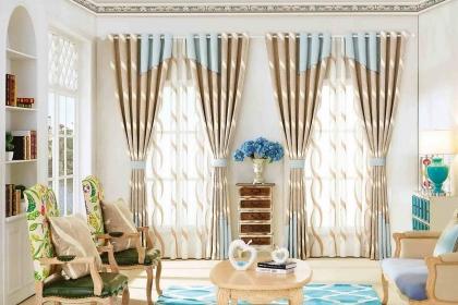 最简单的窗帘搭配原则介绍,选对窗帘让家再美一些
