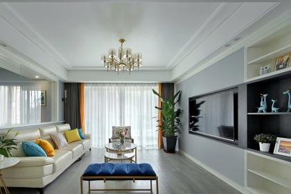 140平米四室两厅装修案例,现代轻奢风设计让家品位感十足
