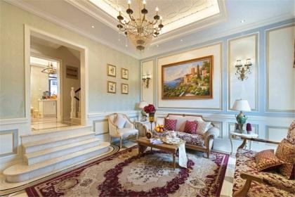 客廳茶幾裝修效果圖,營造優雅舒適的客廳環境