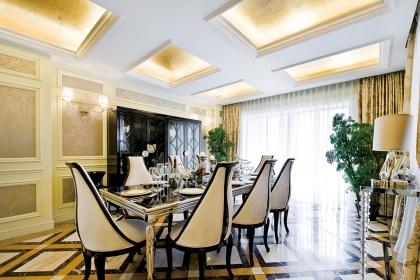 餐厅吊顶装修设计要点介绍,让家人就餐有一个好心情