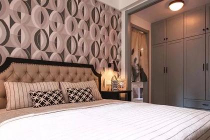 105平米三居室設計,北歐混搭風居室裝修