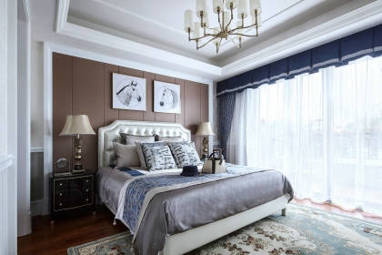 臥室窗簾搭配技巧,掌握這5個技巧輕松搭配窗簾