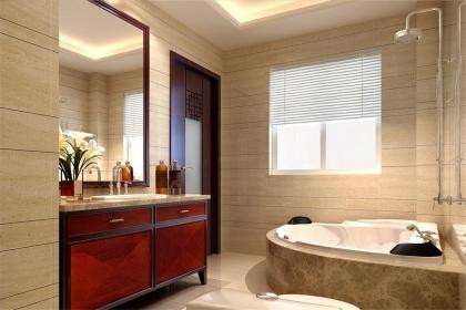 2018浴室瓷砖装修效果图,浴室瓷砖装修图片大全