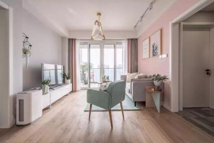 100平米两室一厅装修效果图,绝美的配色让人眼前一亮