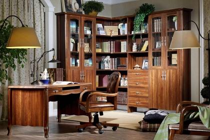 書房L型書柜要怎么放置?L型書柜放置風水介紹