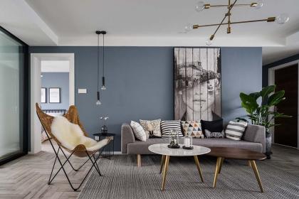 100平米旧房改造装修案例,两居变三居开启北欧生活