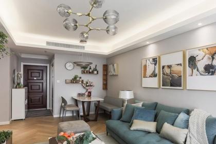90平米三室两厅案例,简约风格带给你舒适家居