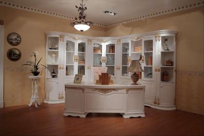 书房转角书柜怎么设计?转角书柜设计方法介绍